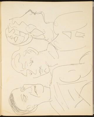 Drei Figuren (Three Figures) [p. 7]