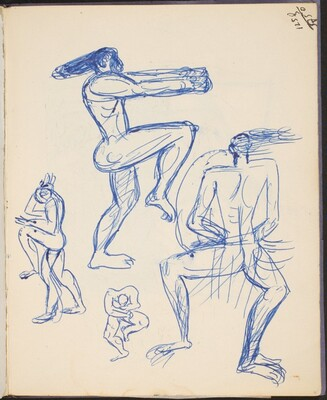 Aktstudien - Athleten (Studies of Athletes) [p. 41]