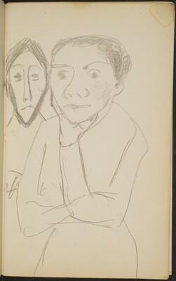 zwei Frauen (Two Women) [p. 19]