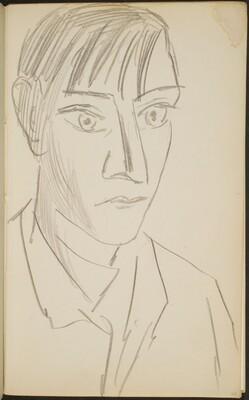 junger Mann (Young Man) [p. 23]
