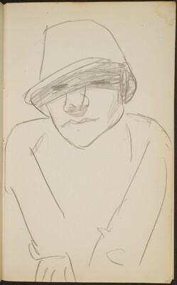 Figur mit Hut (Figure with Hat) [p. 25]