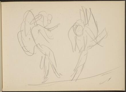 Skizze von Tanzenden (Sketch of Two Dancers) [p. 65]
