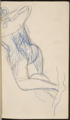 liegende Frau mit verborgenem Gesicht (Woman Laying Face Down) [p. 37]