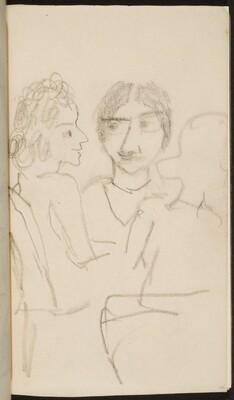 drei zu Tisch sitzende Frauen (Three at a Table) [p. 45]