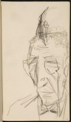 älterer Mann (Elderly Face) [p. 91]