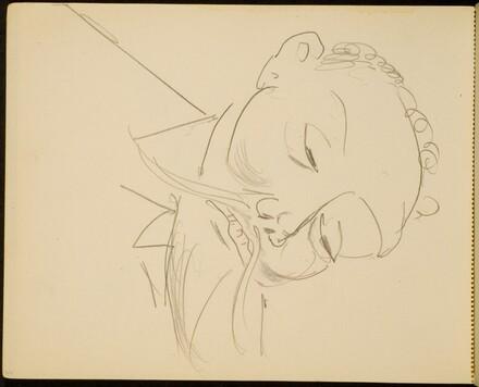 Mann mit Spitzbart (Man with a Pointed Beard) [p. 66]