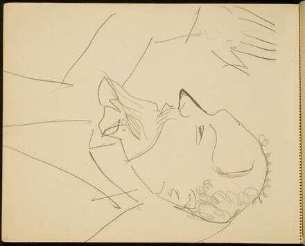 Mann mit erhobenem Arm (Man with a Raised Hand) [p. 68]