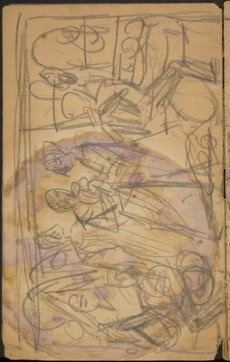 Entwurf für ein Triptychon (Sketch for a Tryptich) [p. 4]