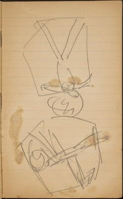Zwei Akrobaten in der Schaukel (Two Acrobats in Swings) [p. 25]