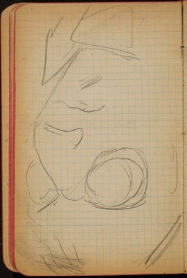 Weibliche Bildnisstudie, Detail (Female Portrait Study, Detail) [p. 32]