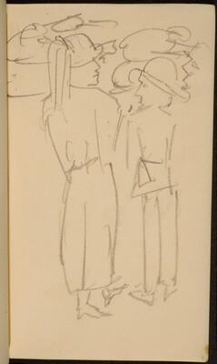Zwei stehende Figuren (Two Standing Figures) [p. 7]