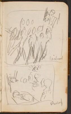 Zwei Skizzen mit Titeln (Two Sketches Titled) [p. 20]