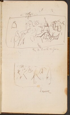 Zwei Skizzen (Two Sketches) [p. 26]