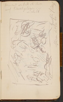 Skizze und Notizen (Sketch with Notation) [p. 70]