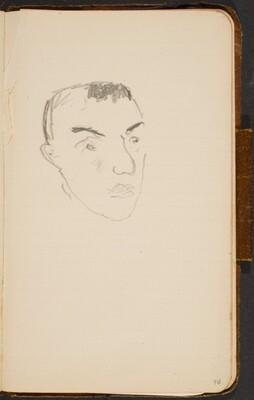 männlicher Kopf (Man's Head) [p. 96]
