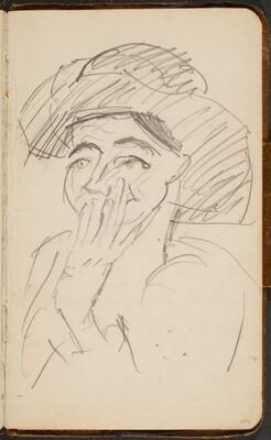 Frau mit Hut (Woman with a Hat) [p. 104]