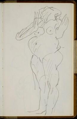 Stehender weiblicher Akt (Standing Female Nude) [p. 33]