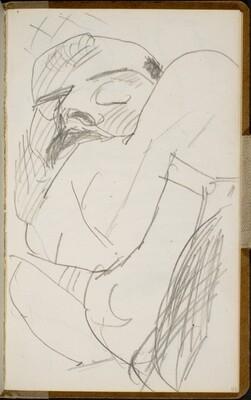 Schlafender Mann (Sleeping Man) [p. 43]