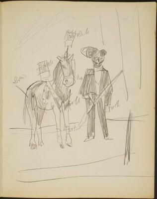 Mann mit Pferd (Man with a Horse) [p. 11]