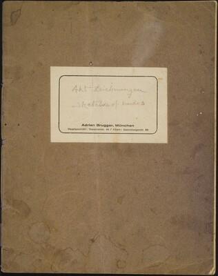 Beckmann Sketchbook 52