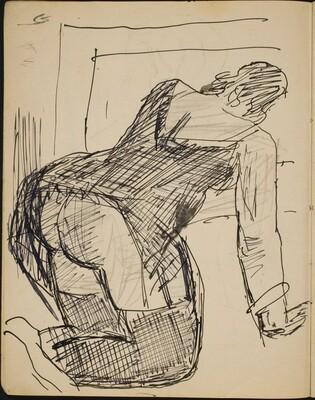 Sitzender weiblicher Akt (Nude Seated) [p. 6]