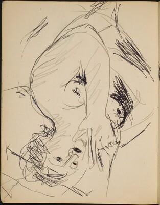 Rauchender weiblicher Akt (Nude Smoking) [p. 18]