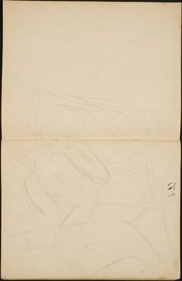 Sitzende Frau in Wäsche (Half Nude, Seated) [p. 32-33]