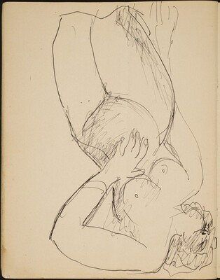 Liegender weiblicher Akt (Reclining Nude) [p. 34]