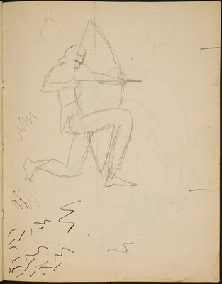 Bogenschütze (Archer) [p. 37]