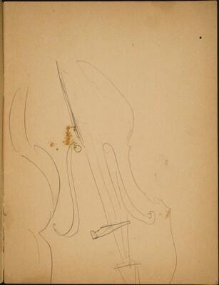 Detailstudie eines Violoncello (Study of a Violin) [p. 3]