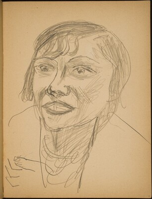 Bildnis Berta Drews-George (Portrait of Berta Drews-George) [p. 9]