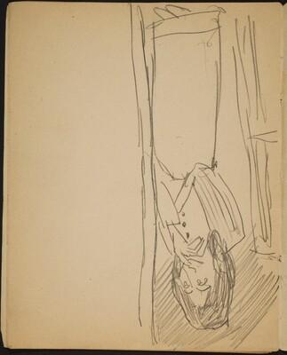 Frau in einer Türöffnung (Woman in a Doorway) [p. 10]