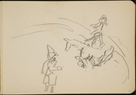 Manege mit Pferd und Clown (Circus Ring with a Horse and Clown) [p. 57]
