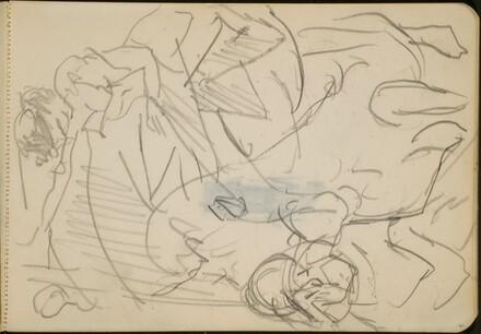 Kunstreiterin und Clown (Female Circus Rider and Clown) [p. 61]