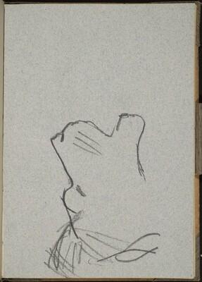 Löwenkopf im Profil (Lion Profile) [p. 7]