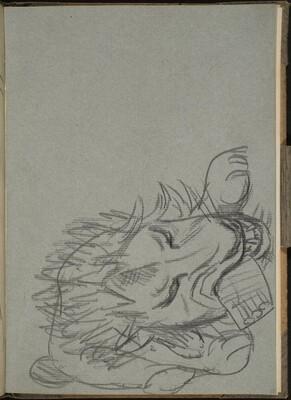 Fressender Löwe (Lion Eating) [p. 25]