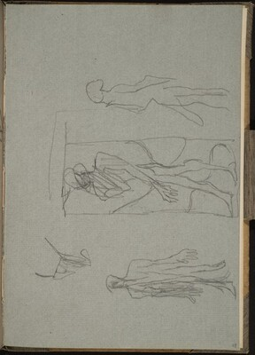Drei hagere Akte (Three Nude Figures) [p. 29]