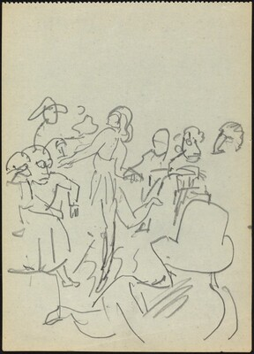 Dancer and Male Audience