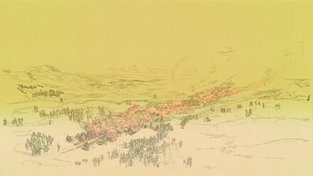 Burning Mining Town
