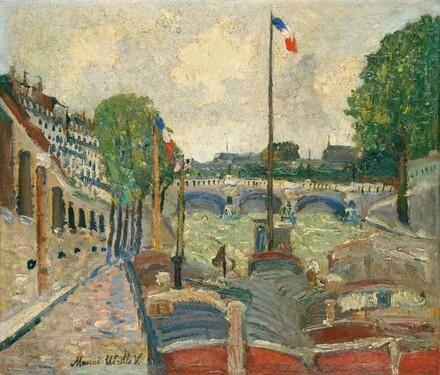 The Pont Saint-Michel, Paris