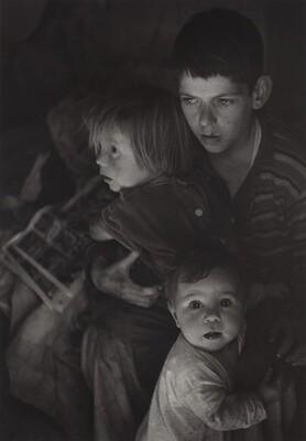 Trailer Camp Children, Richmond, California