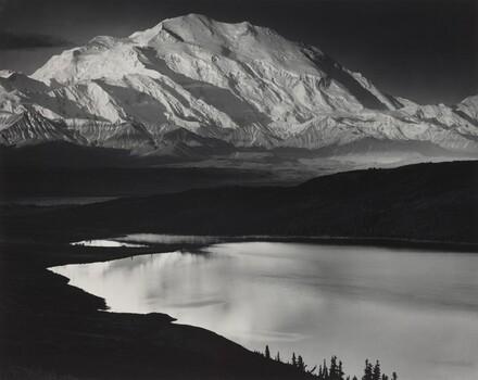 Mount McKinley and Wonder Lake, Denali National Park, Alaska