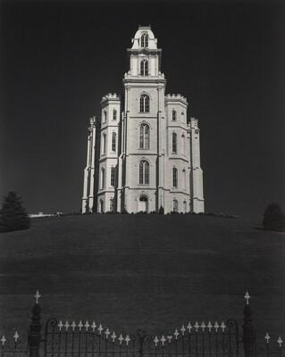Mormon Temple, Manti, Utah