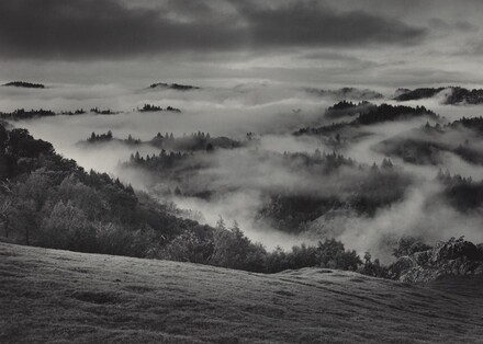 Clearing Storm, Sonoma County Hills, California