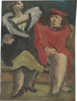 Untitled (two seated women)