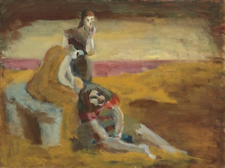Untitled (three girls in a landscape)