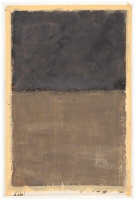 Untitled (brown and gray)
