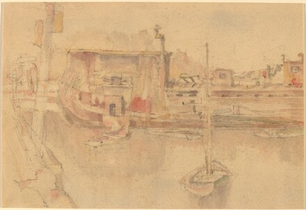 Untitled (Harbor Scene)