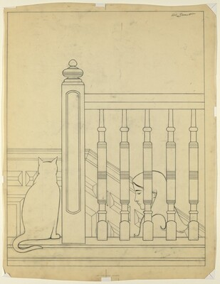 Drawing for The Bannister