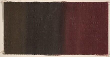 Color Test in Crimson, Black, and Umber